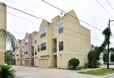 Houston Condo/Townhouse For Sale: 4220 Koehler Street