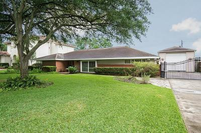 Bellaire Single Family Home For Sale: 5107 Valerie Street
