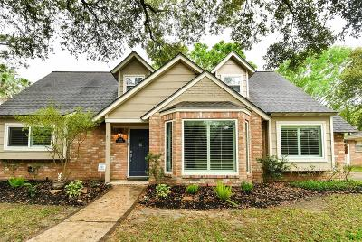 Houston Single Family Home For Sale: 1814 Berryfield Drive
