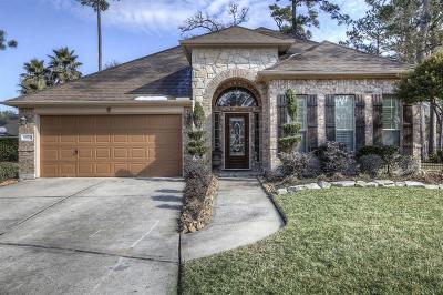 Kingwood Single Family Home For Sale: 26900 Chateau Lake Drive