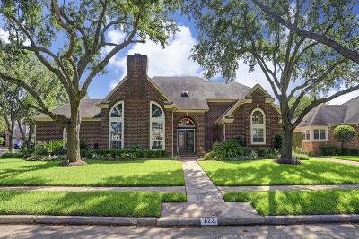 Sugar Land Single Family Home For Sale: 822 Lakeshore Drive
