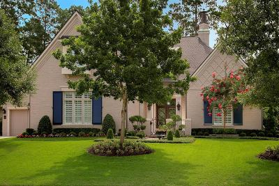 Conroe, Spring, The Woodlands Single Family Home For Sale: 110 W Ambassador Bend
