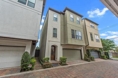 Houston Single Family Home For Sale: 1102 Lakin Street