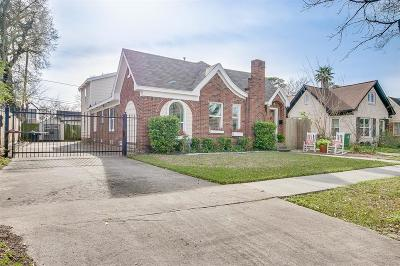 Houston Single Family Home For Sale: 2818 Barbee Street