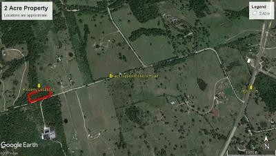 Washington County Farm & Ranch For Sale: Tbd Pickens Road
