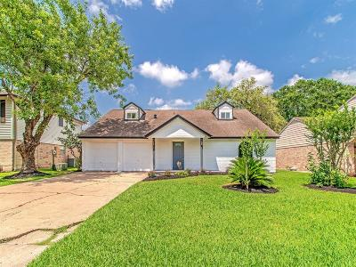 Houston Single Family Home For Sale: 14106 Overbrook Lane