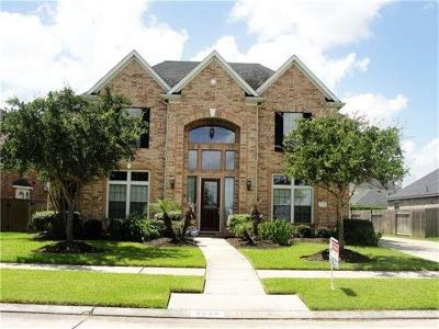 Manvel Single Family Home For Sale: 2626 Canyon Bluff Drive