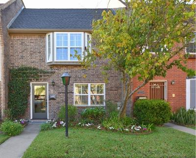 Bellaire Condo/Townhouse For Sale: 6504 Gambier Lane