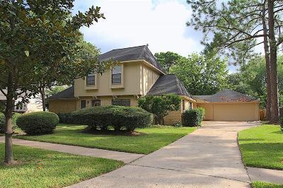 Houston Single Family Home For Sale: 14814 Cedar Point Drive