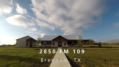 Homes for Sale in Washington County, TX