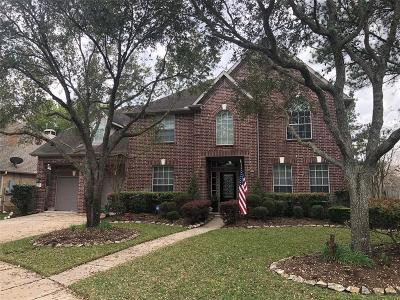 Katy Single Family Home For Sale: 1517 Whispering Oaks Drive