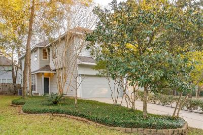The Woodlands Condo/Townhouse For Sale: 135 Camellia Grove Circle