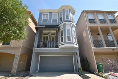 Houston Single Family Home For Sale: 1117 Gross Street