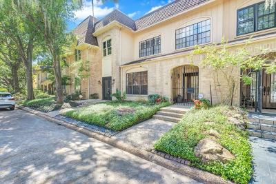 Houston Condo/Townhouse For Sale: 38 Bayou Pointe Drive