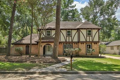 Kingwood Single Family Home For Sale: 3110 Little Bear Drive