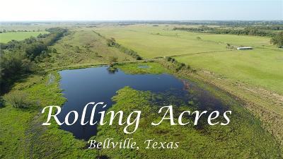 Bellville Farm & Ranch For Sale: 0000 Jasek Lane Lane