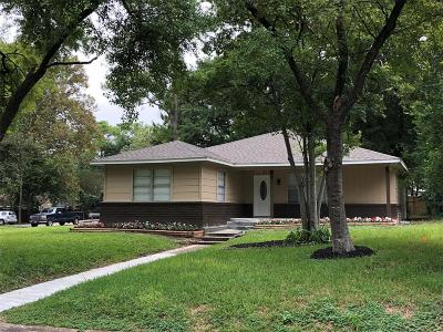 Houston Single Family Home For Sale: 1321 Confederate Road