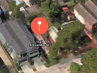 Houston Residential Lots & Land For Sale: 1321 Alexander Street