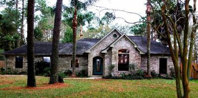Alvin Single Family Home For Sale: 4610 Fm 2917 Road