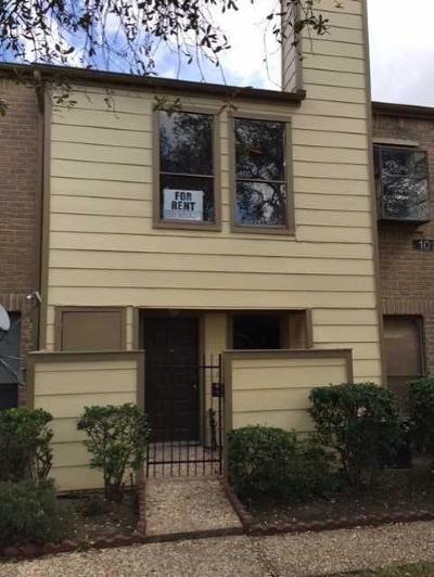 Houston Condo/Townhouse For Sale: 8299 Cambridge Street #702