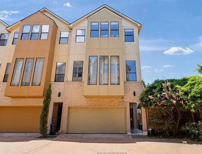 Houston Condo/Townhouse For Sale: 950 Patterson Street