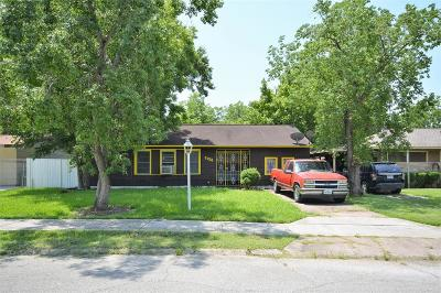 Harris County Single Family Home For Sale: 5926 Belneath Street