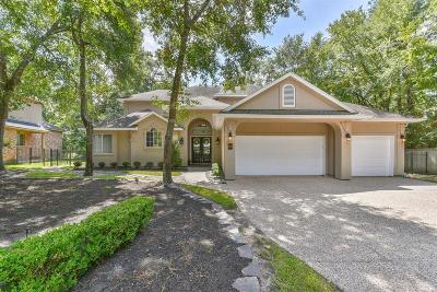 The Woodlands Single Family Home For Sale: 343 S Silvershire Circle