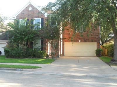 Missouri City Single Family Home For Sale: 4018 Creek Hollow Lane Lane