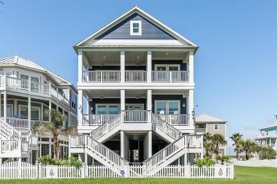 Galveston Single Family Home For Sale: 3827 Conch