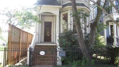 Houston Single Family Home For Sale: 1244 Cortlandt Street