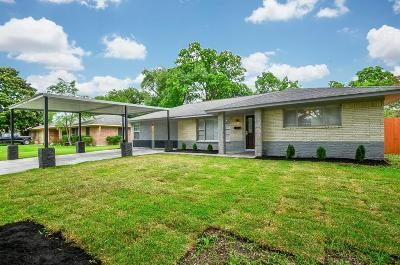 Houston Single Family Home For Sale: 9213 Lugary Drive