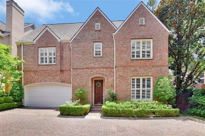 Houston Single Family Home For Sale: 1232 Ripple Creek Drive