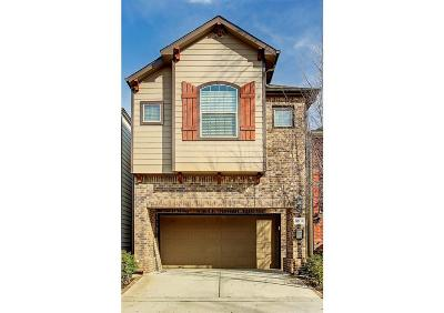 Houston Single Family Home For Sale: 831 W 18th Street #B