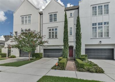 Houston Condo/Townhouse For Sale: 4619 Jackson Street