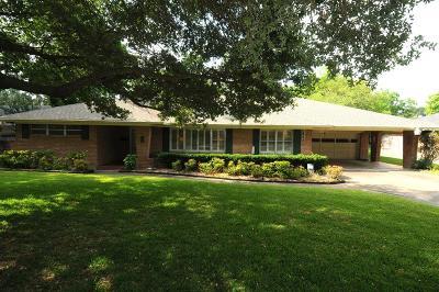Houston Single Family Home For Sale: 5625 Pine