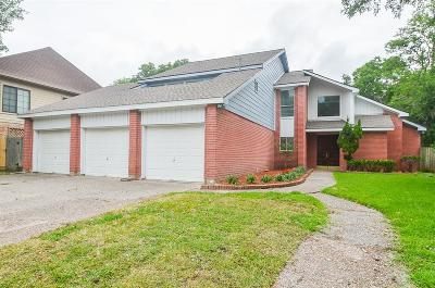 Houston Single Family Home For Sale: 1106 Brecon Hall Drive