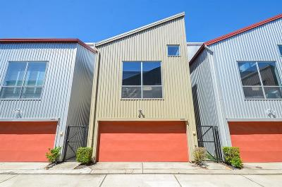 Houston Condo/Townhouse For Sale: 6947 Ardmore Street