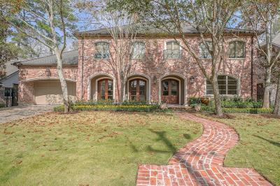 Houston Single Family Home For Sale: 13118 Hermitage Lane