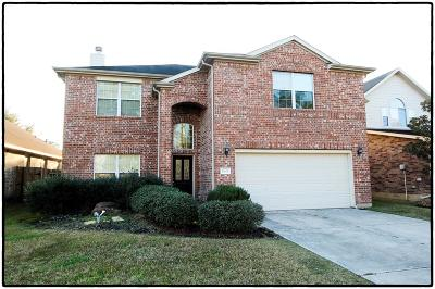 Tomball Single Family Home For Sale: 17615 Memorial Falls Drive
