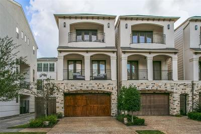 Houston TX Single Family Home For Sale: $850,000