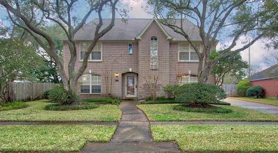 Houston Single Family Home For Sale: 2502 N Fairwind Drive