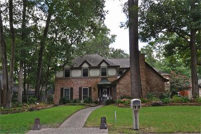 Kingwood Single Family Home For Sale: 3314 Oak Gardens Drive