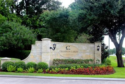 Tomball Residential Lots & Land For Sale: 17408 Justinwood Point