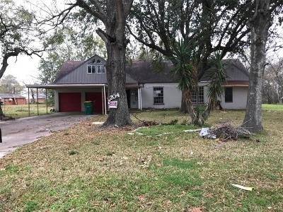 Baytown Single Family Home For Sale: 2204 Wright Boulevard
