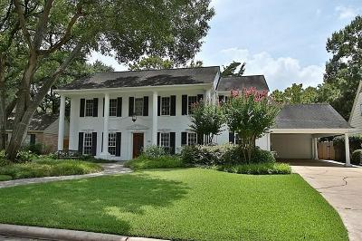 Memorial Single Family Home For Sale: 14807 River Forest Drive
