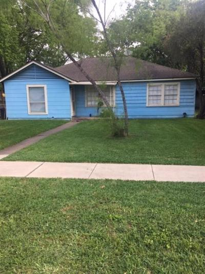 Bellaire Single Family Home For Sale: 4908 Chestnut Street
