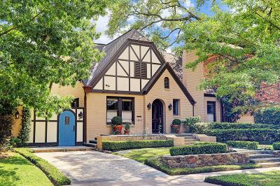 Houston Single Family Home For Sale: 1913 Wroxton Road