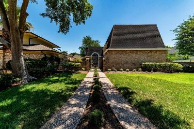 Houston Single Family Home For Sale: 823 W Ivy Wall Drive