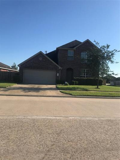 Manvel Single Family Home For Sale: 124 Rodeo Drive