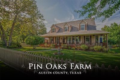 New Ulm Farm & Ranch For Sale: 6685 Hoppe Sister Road